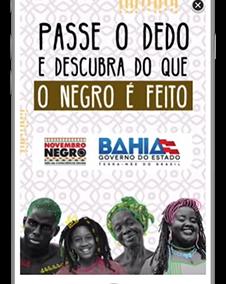 Raspadinha igualdade racial – Governo do Estado da Bahia